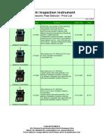 Ultrasonic Flaw Detector Price List