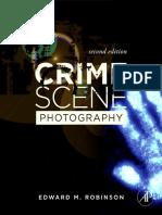 Fotografía de la escena del crimen