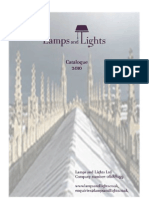 Lamps & Lights Catalogue