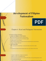 Chapter 3- Development of Filipino Nationalism