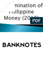 Denomination of Philippine Money (2015)