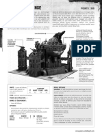 w40k - Fiche - Laser de Défense (Fr)