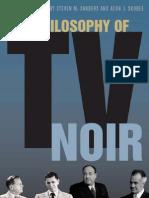 The Philosophy of TV Noir