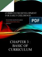 CHAPTER 3  BASIC CURRICULUM