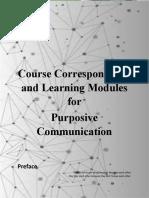PURPCOM (Prelim Modules)