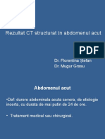 CT in Abdomenul Acut