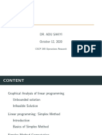 Lecture slides on simplex computations (1)