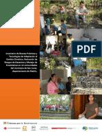 Inventario de Buenas Prácticas y Tecnologías de Adaptación al Cambio Climático, Reducción de Riesgos de Desastres y Manejo de Ecosistemas en 12 comunidades del municipio de San Lucas, departamento de Madriz