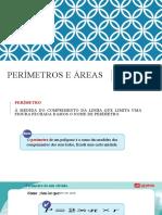 Perimetros e areas