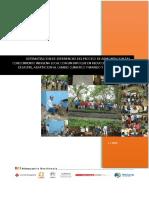 Sistematización de experiencias del proceso de armonización del conocimiento indígena local con un enfoque en reducción del riesgo de desastre, adaptación al cambio climático y manejo y restauración de ecosistemas