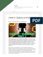 Lesakerfrancophone Fr Covid 19 Epidemie de Fraude 2 sur 2