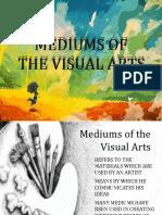 medium in arts