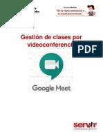 3. Gestión de clases por videoconferencia_Google Meet