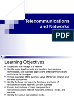 Telecommunication and Networks (MIS)