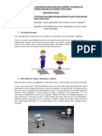 Atividades Ed. Física 2 Sarita