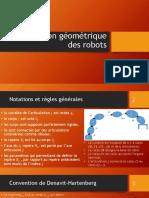 Ch3_Modélisation géométrique des robots