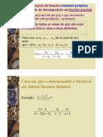 Integrais de funções racionais_ Integrais de funções contendo um trinômio