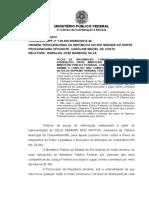 Conflito atrib. MPExMPF - competec. STF