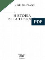 BELDA PLANS, J. - Historia de la Teología - Ed. Palabra
