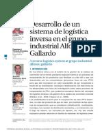 DESARROLLO DE UN SISTEMA DE LOGÍSTICA INVERSA EN EL GRUPO INDUSTRIAL ALFONSO