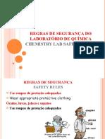 Chemistry Lab Safety Rules Sunum
