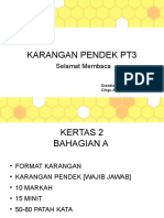 Panduan Menulis Karangan Pendek PT3