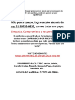 Trabalho - Nelson Mandela (31)997320837