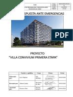PLAN DE EMERGENCIA - CONVIVIUM