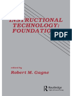 Robert M Gagne - Instructional Technology_ Foundations-Routledge_ (2013).pdf