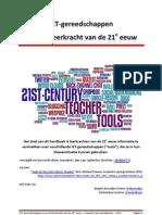ICT-gereedschappen voor de leerkracht van de 21e eeuw