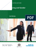 policing and gender