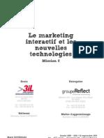 sept2010 - Memoire - Marketing Interactif et les nouvelles technologies