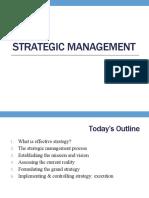 Chapter 6 - Strategic Management