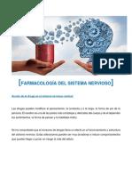 FARMACOLOGÍA - Farmacología del Sistema Nervioso.pdf