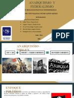 ANARQUISMO Y FEDERALISMO PPT .pptx