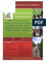 EXPEDIENTE DE CAPACITACION TAMBILLO