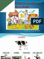 caracteristicas animales granja