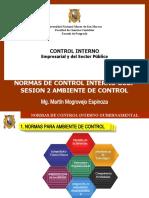 SESION 2 AMBIENTE DE CONTROL