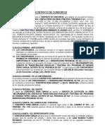 CONTRATO DE CONSORCIO DUNA SARAJA - TEPRO SARAJA - PARA ENTIDAD (1)