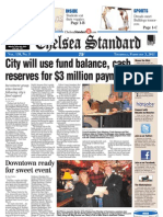 The Chelsea Standard front page Feb. 3, 2011