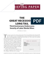 The Very Long Economic Tail of The Great Recession Feb 2011
