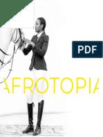 Catálogo de la exposición AFROTOPIA