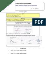 Ficha de Trigonometria- ângulos e radianos IGR