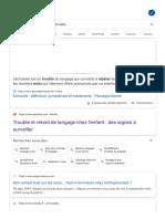 repeter les mots enfant trouble - Recherche Google