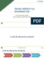 Gestión del tráfico y la seguridad vial