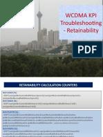 WCDMA-Retainablity KPIs