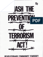 Smash the Prevention of Terrorism Act! RCT June 1979