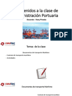 Documento de transporte marítimo