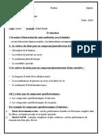 Evaluation D611