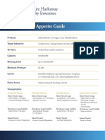 Inland Marine Appetite Guide - 2015-11-12